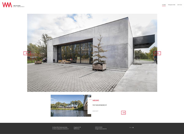 Architect Wim Desloovere - home